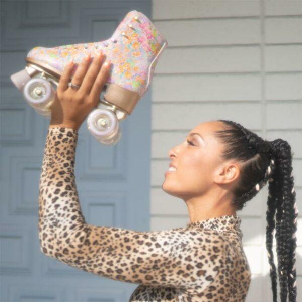 Impala Roller skates - Cynthia Rowley Floral