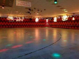 xmas rink lights perth