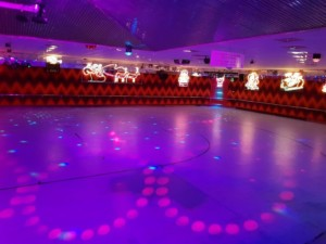 Ring lights christmas rolloways