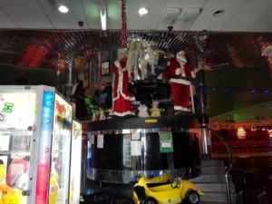Christmas DJ booth roller skating p erth