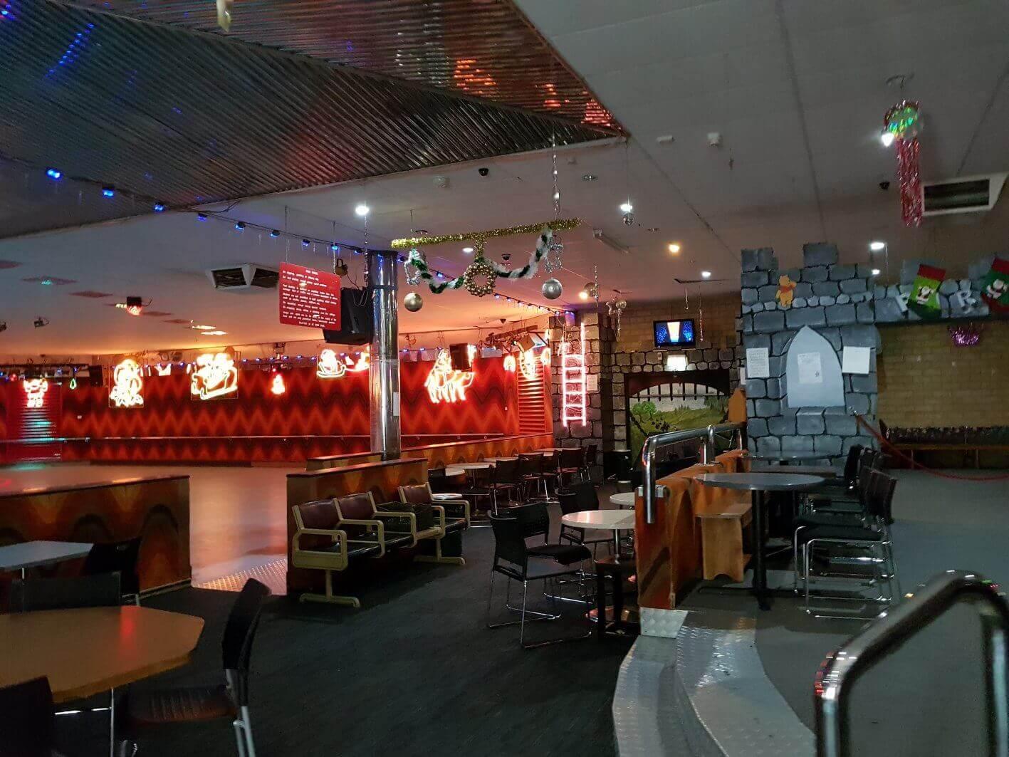 xmas rink lights
