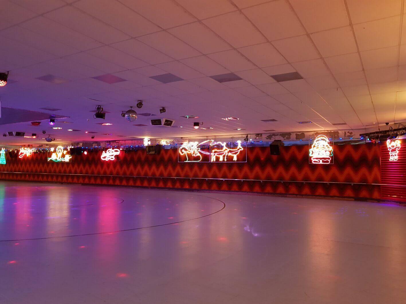 rollerskating rink xmas perth