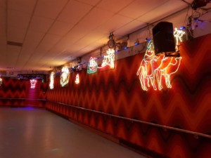 rolloways rollerskating rink xmas