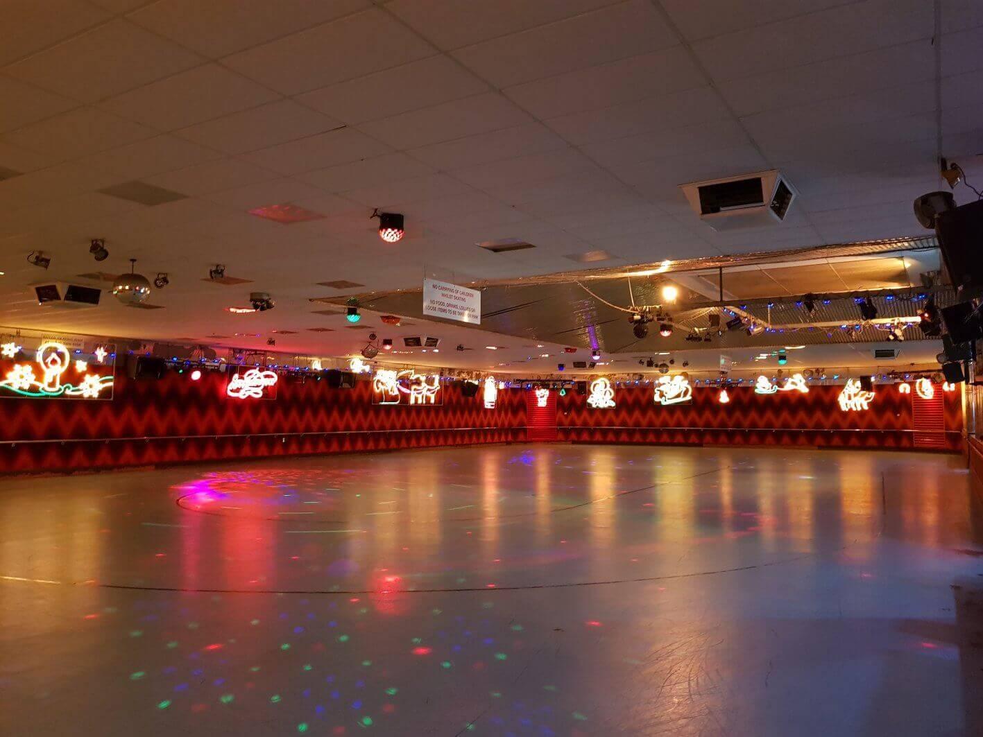 rollerways skate rink xmas