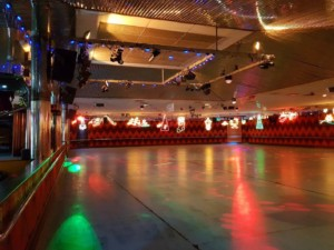 rollerways roller skating rink xmas