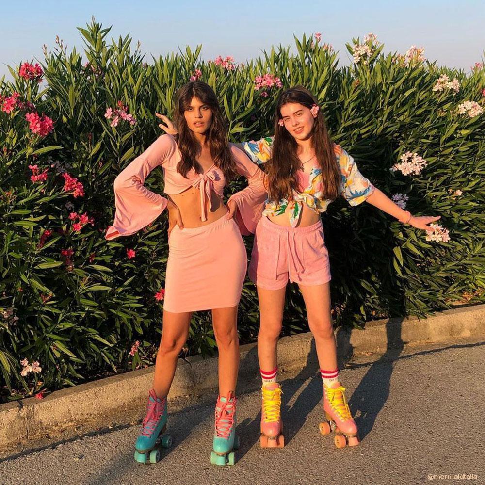 Impala Roller Skates - Pink