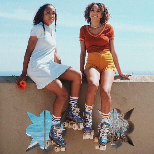 Impala Roller skates - Harmony Blue