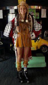 Disney theme costume winner rollerskating perth