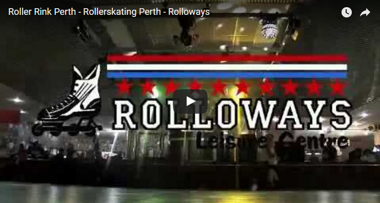 Watch rollerskating at Perth Rolloways Skate Centre on YouTube